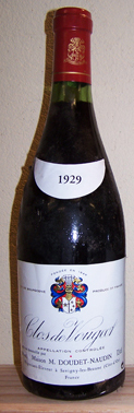 Doudet Vougeot Bottle