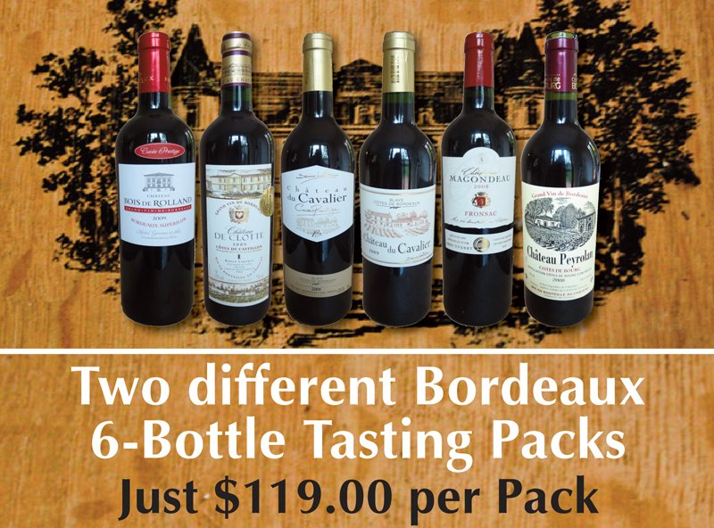 Bordeaux Tasting Packs