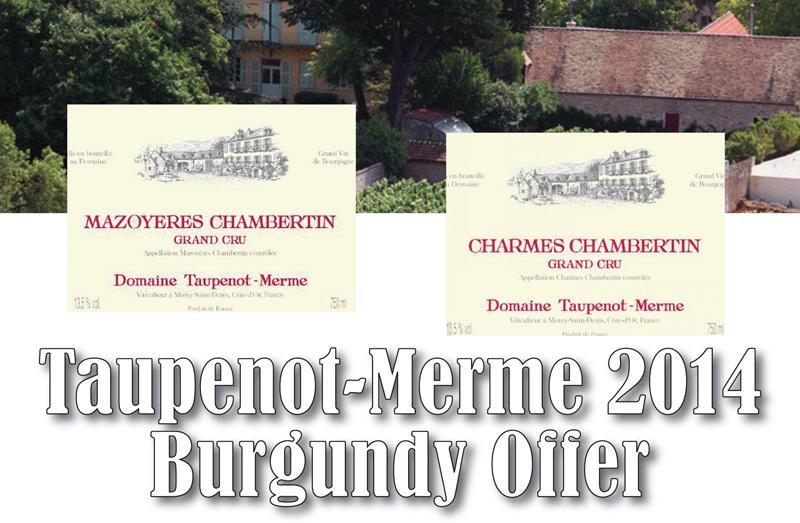 Taupenot-Merme 2014 Header