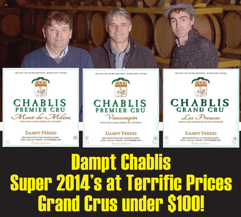Dampt Chablis 2014 Header
