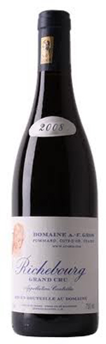 A-F Gros 2008 Richebourg Bottle
