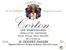Doudet Corton Label