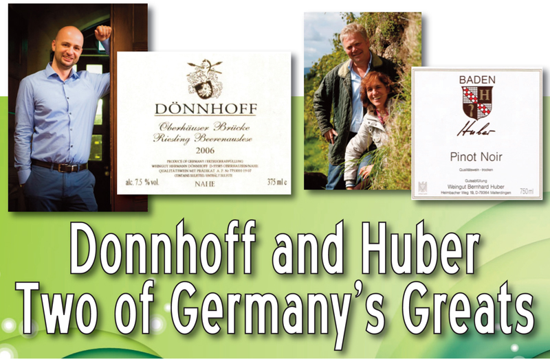 Donnhoff Huber Header