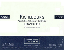 Anne Gros Richebourg Label