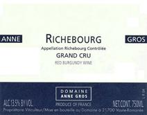 Anne Gros Richebourg Label