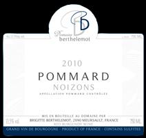 Berthelemot Pommard Noizons