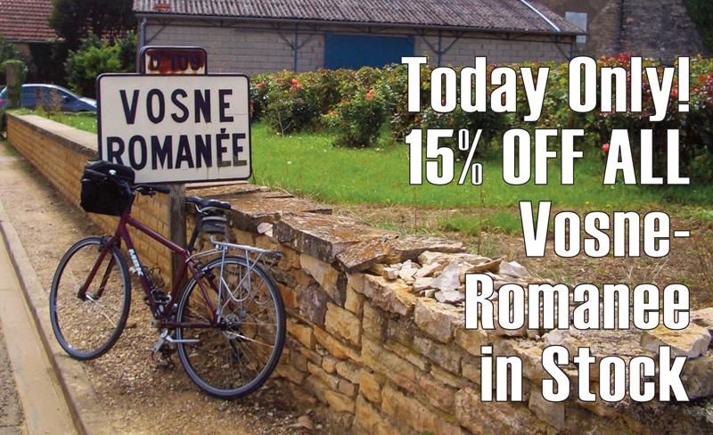 Vosne-Romanee 15% Header