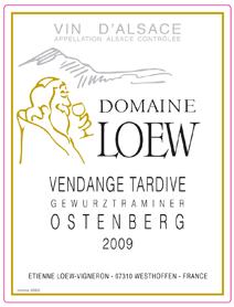 Loew Gewurz VT Label