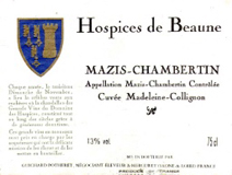 Hospices Mazis Label