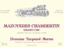 Taupenot-Merme_mazoyeres_label