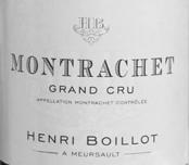Boillot Montrachet Label