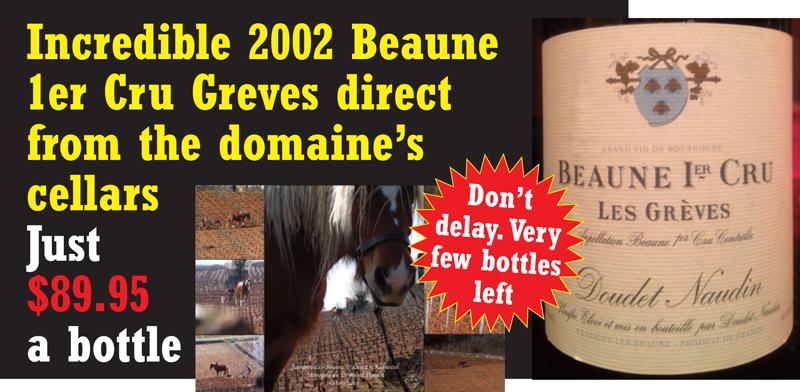 Doudet 2002 Greves Horse