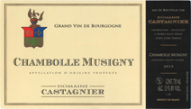 Castagnier Chambolle label new