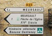 Meursault Sign