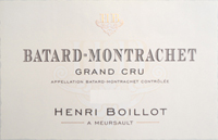 Boillot Batard Label