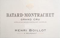 Boillot Batard Label
