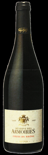 Armoiries Bottle Black