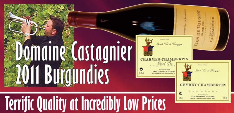 Castagnier 2011 Burgundy Header