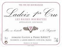 Ravaut Basses Mourottes Label