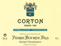 Bouree Corton Label