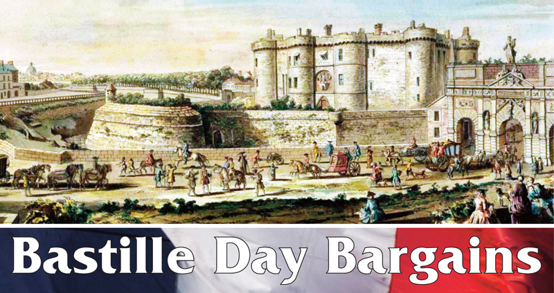 Bastille Day Bargains