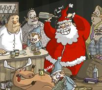 Santa Drunk