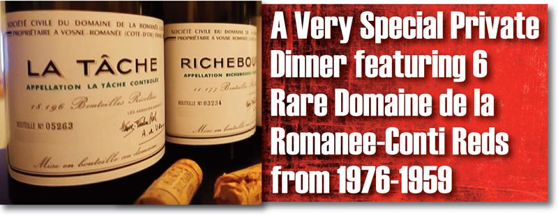 DRC Private Dinner Header