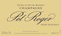 Pol Roger BdB Label