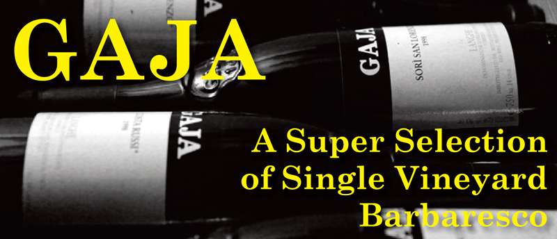 Gaja Barbaresco Header