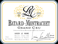 Le Moine Batard 2010 Label