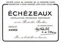 DRC Echezeaux Label