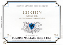 Maillard Corton Blanc Label