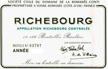 DRC Richebourg Label