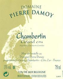 Damoy Chambertin Label