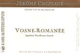 Chezeaux Vosne Label