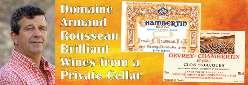 Rousseau Private Cellar Header