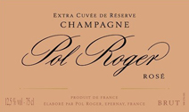 Pol Roger Rose Label
