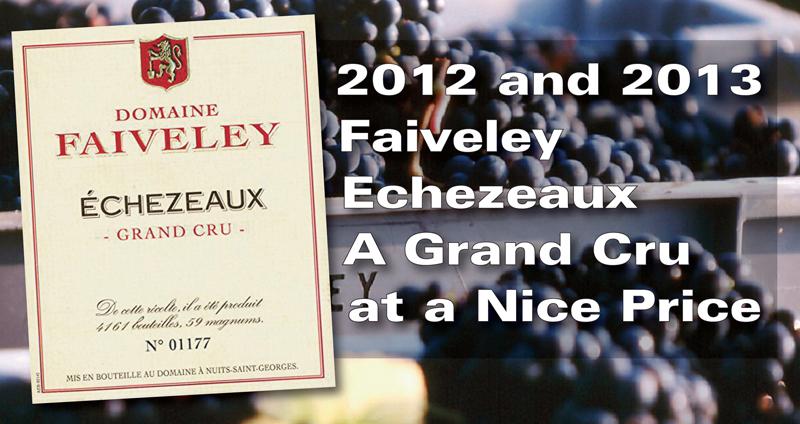 Faiveley 2012 2013 Echezeaux Header