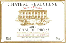 Beauchene Cdr 2011 Label