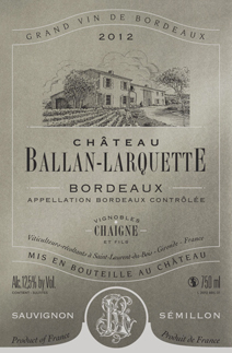 Ballan-Larquette Blanc Label