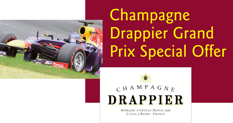 Drappier Grand Prix Header