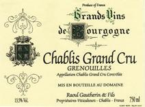 Gautherin Grenouilles Label