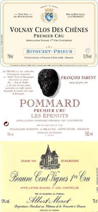 Volnay Pommard Beaune