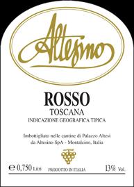 Altesino Rosso Label 5.1