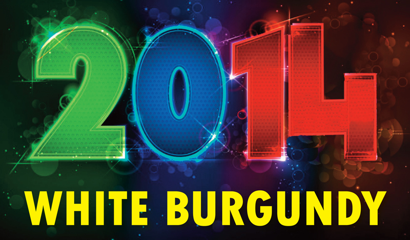 2014 white burgundy header