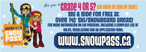 Grade 4 & 5 snowpass