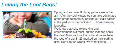 JRC loot bags