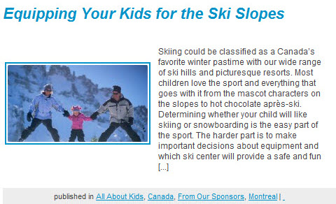Scoop Cafe - ski article