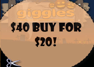 giggles halloween coupon
