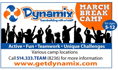 Dynamix Montreal March Break for kids